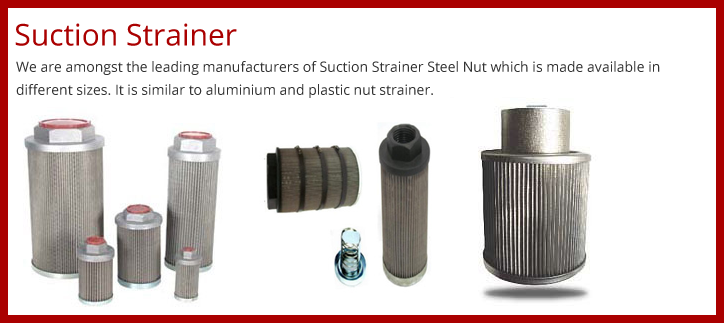 Suction Strainer India